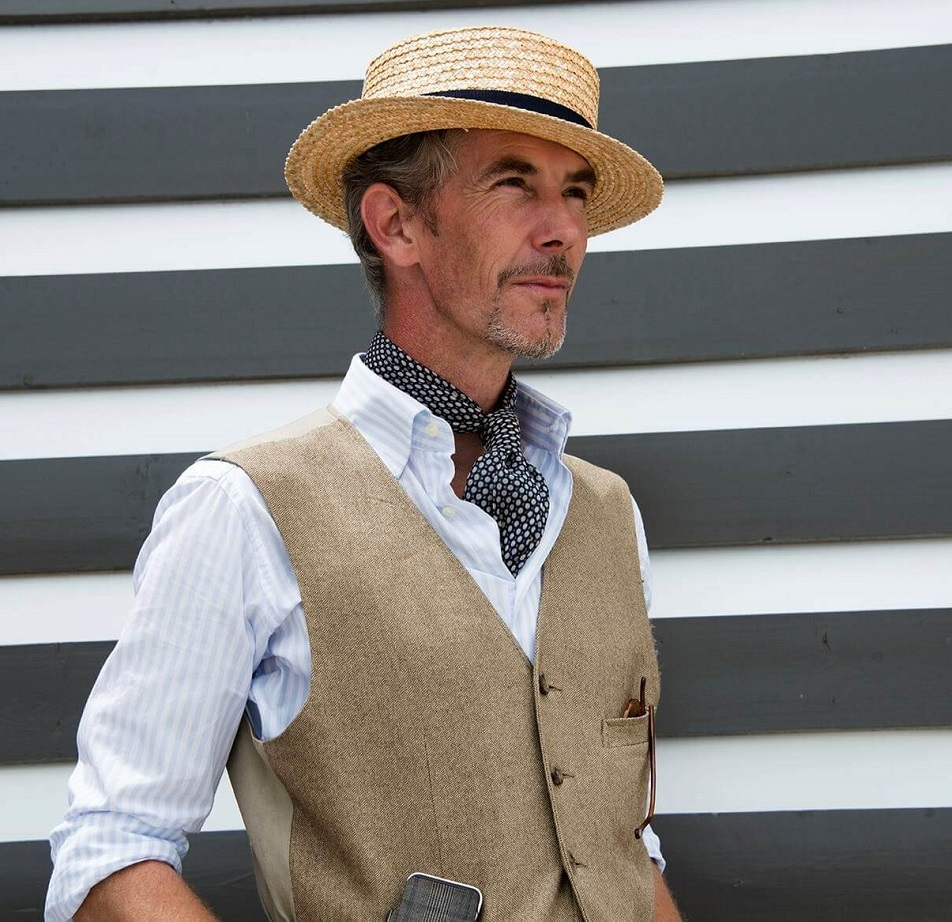 Boater-Hat-and-Vest