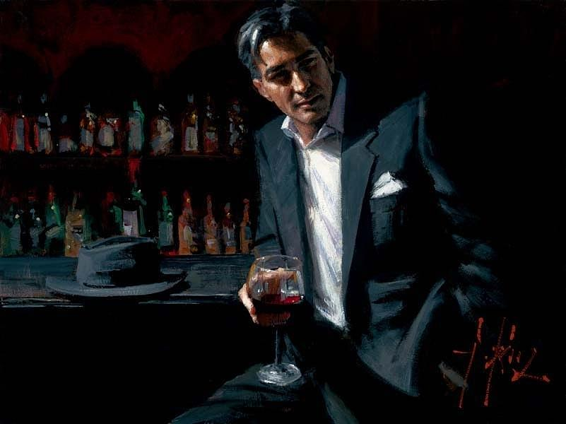 Black Suit Red Wine