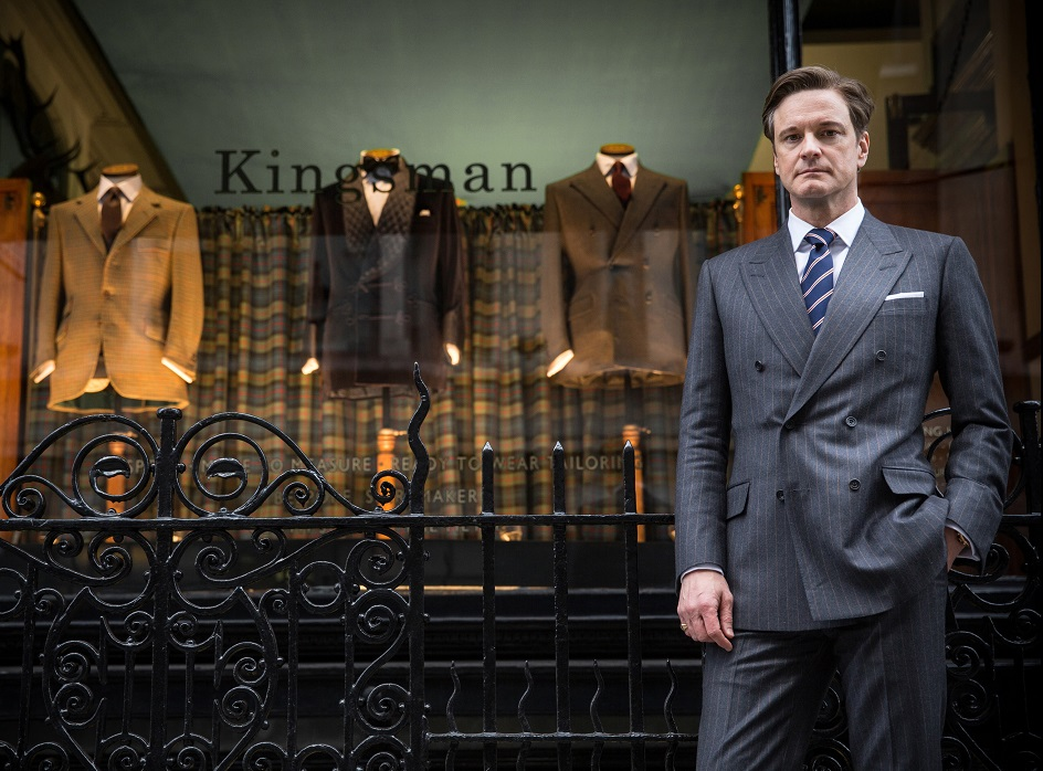 KINGSMAN THE SECRET SERVICE.