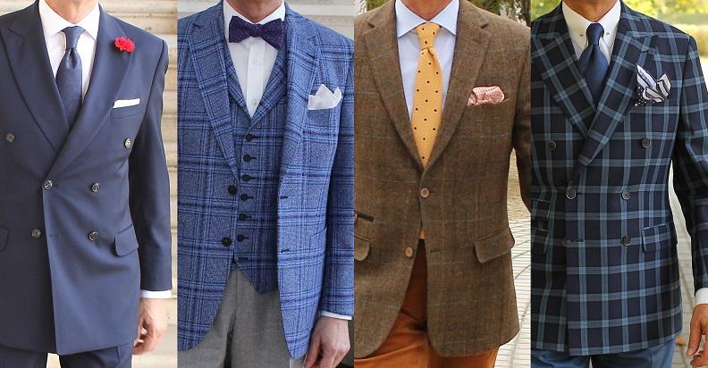 6644e4a7c7ae5 Garnitur i krawat (lub muszka) to powinna być nierozłączna para. Mężczyzna  nawet w najlepszym garniturze, ale bez krawata, wygląda źle.