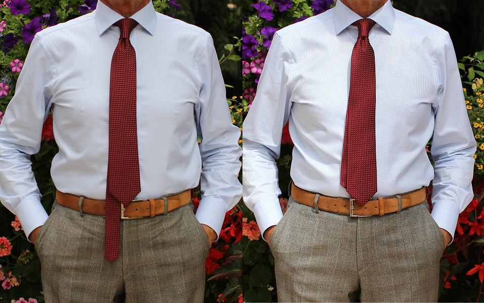 zawiązany krawat zawiązany krawat