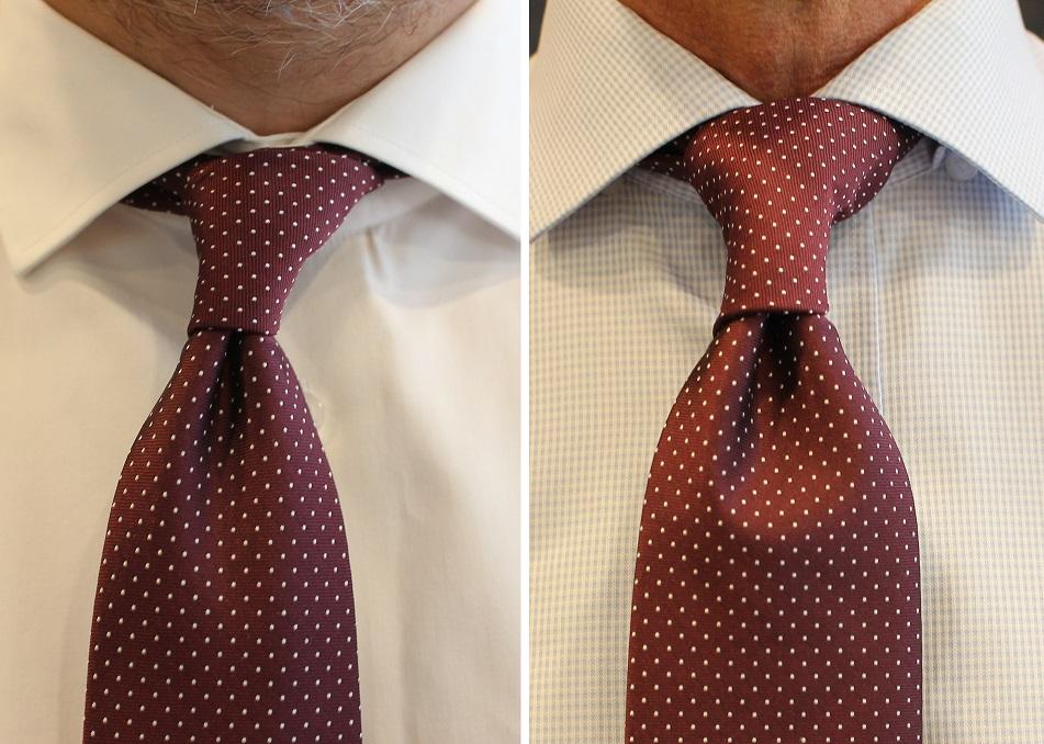 zawiązany krawat