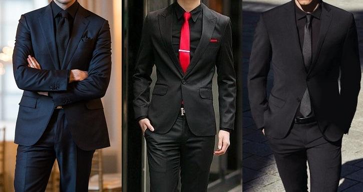 jaka koszula do czarnego garnituru