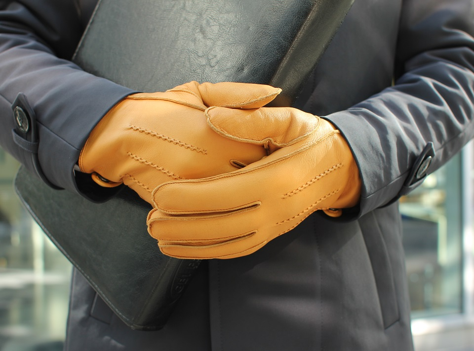 rękawiczki i szalik